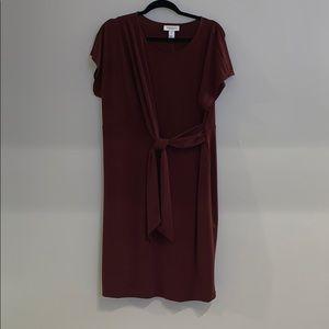 Motherhood Maternity Dresses - Dark burgundy dress